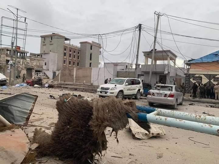 Terroristy zahvatili otel v stolitse Somali