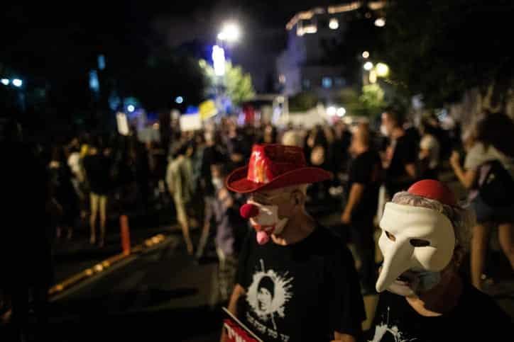 U rezidentsii Netaniyagu protestuyut rabotniki sfery kultury 3