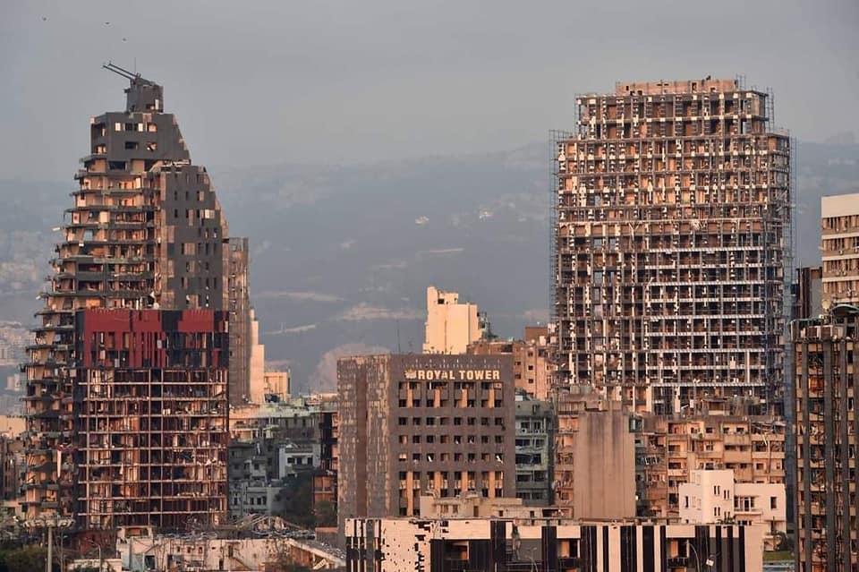 Vzryv v Bejrute 1