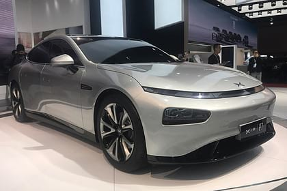 электрокар Xpeng Motors