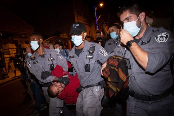 Demonstratsii protiv Netaniyagu 5