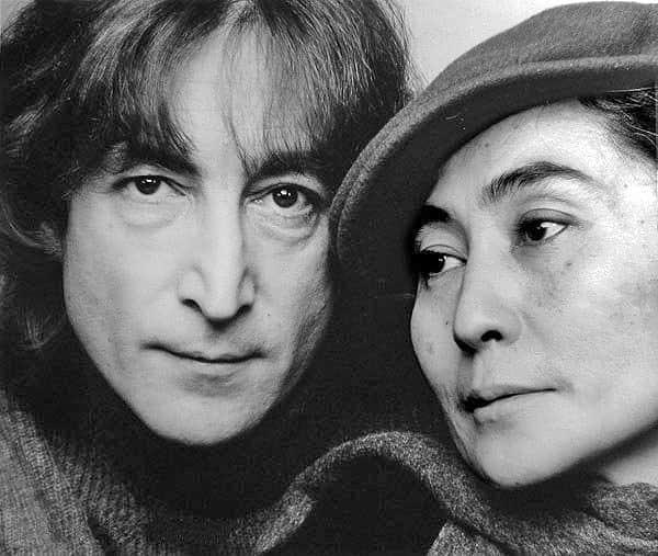 Dzhon Lennon i Joko Ono