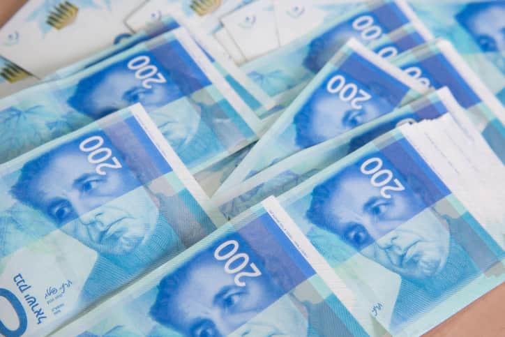 шекель деньги израиль фото