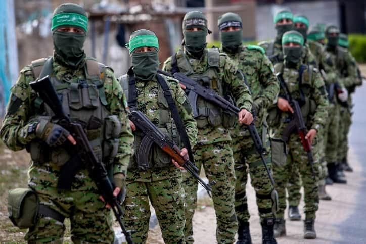 Боевики ХАМАС фото
