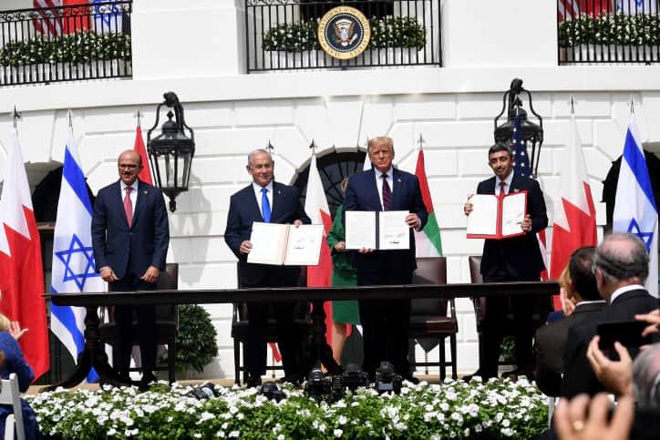 Подписание Мирной декларации фото