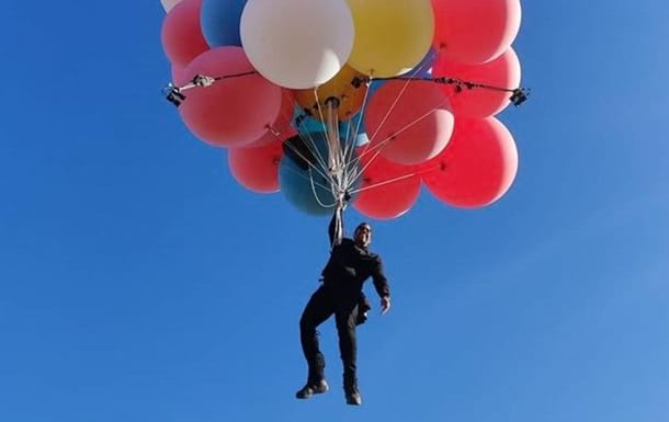 на воздушных шарах фото
