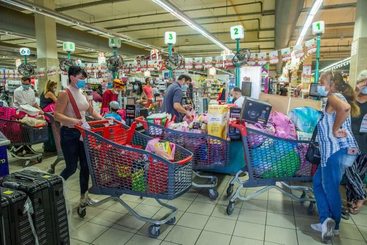 супермаркет Израиль фото