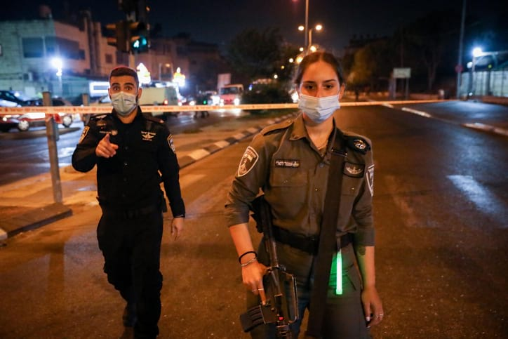 Карантин Израиль полиция ЦАХАЛ блокировка фото