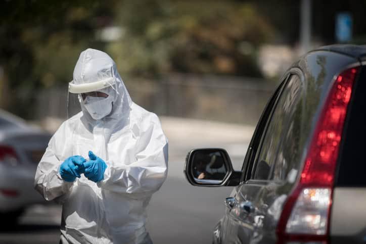 Эпидемия COVID-19 Израиль фото