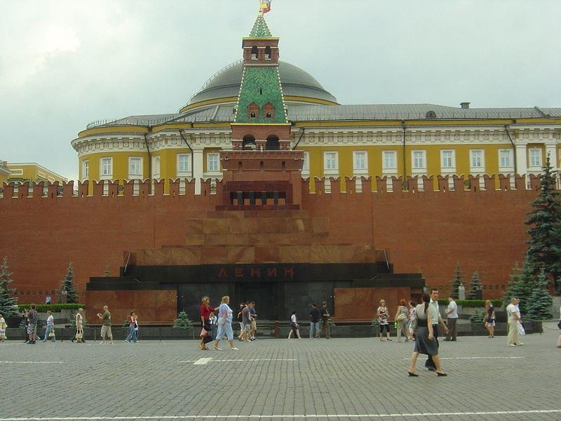 Mavzolej Lenina na Krasnoj ploshhadi v Moskve