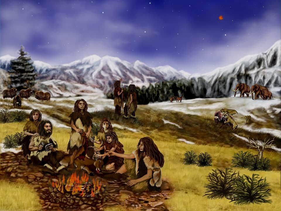 Неандертальцы изображение