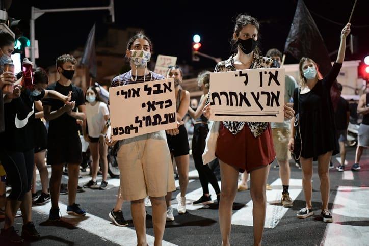 Protesty v Tel Avive 3 1