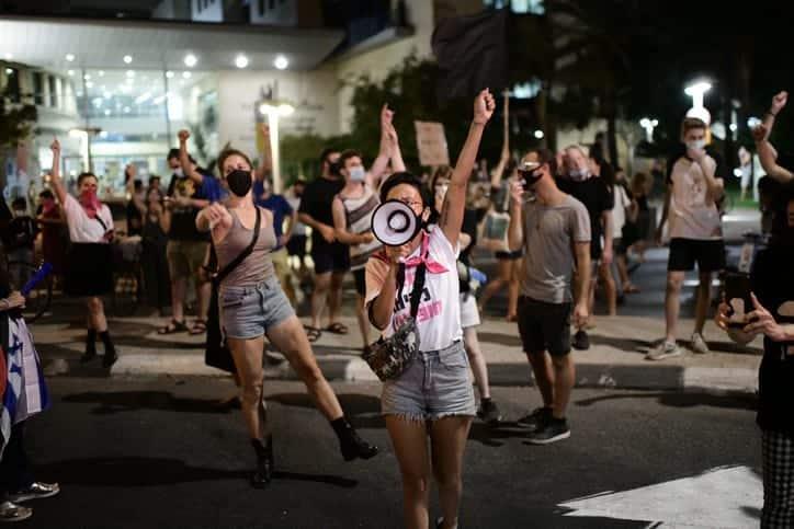 Protesty v Tel Avive 6 1
