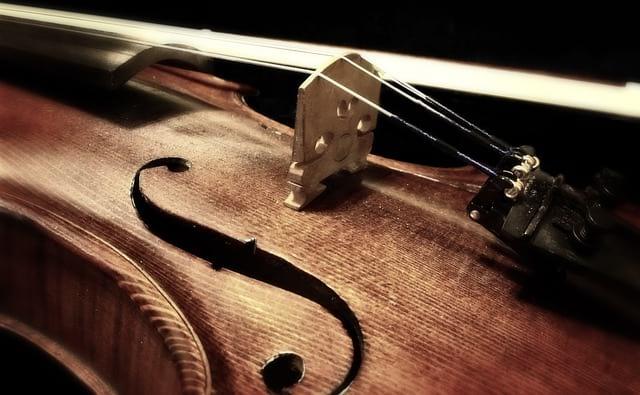скрипка фото