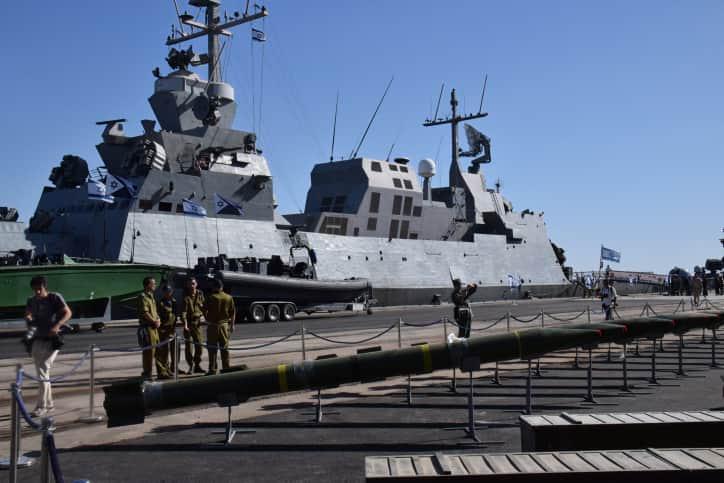 военное судно израиль фото