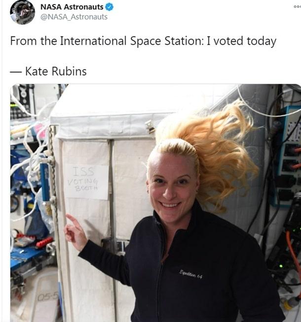 Американский астронавт Кэтлин Рубинс фото