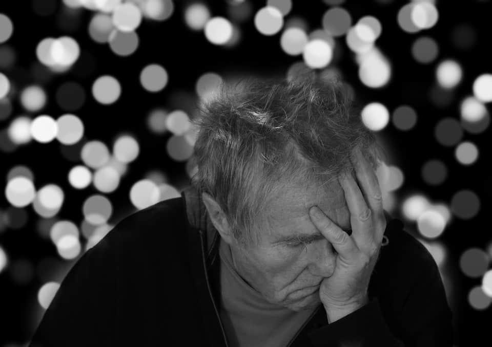 Деменция пожилой мужчина фото