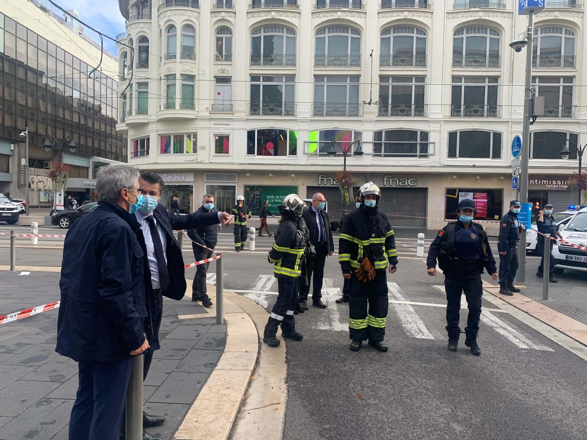 Теракт в Ницце фото