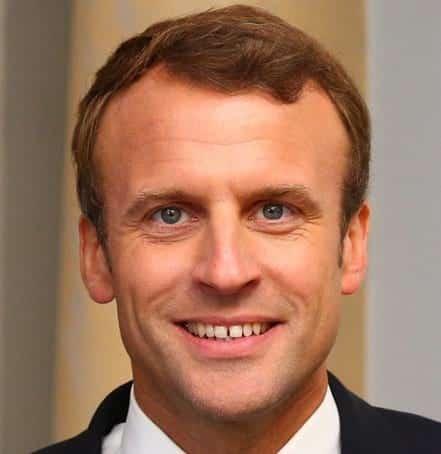 Эмманюэль Макрон президент франции фото