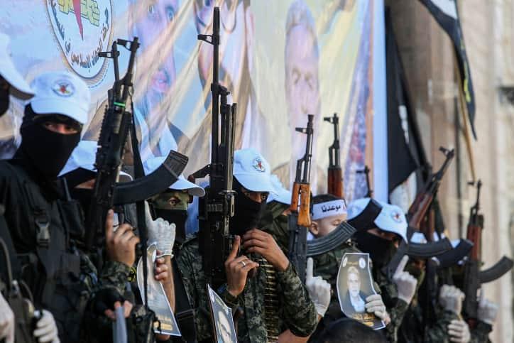Исламский джихад автоматы иллюстрация