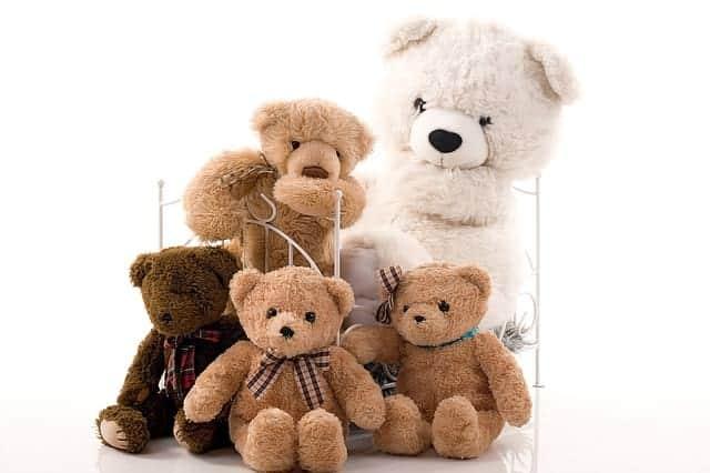игрушечные медведи картинка