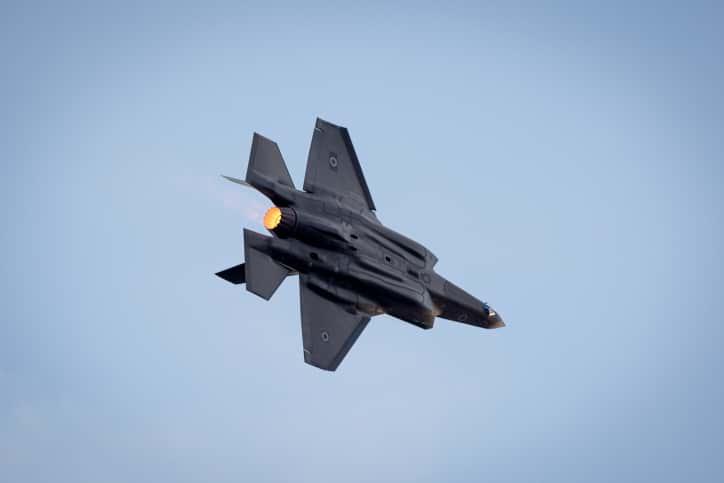 Истребитель F-35 фото