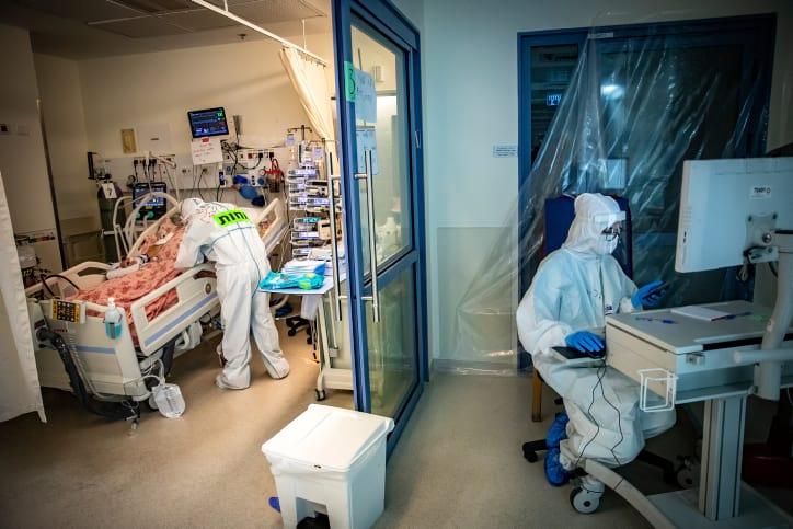 коронавирус больница Израиль фото