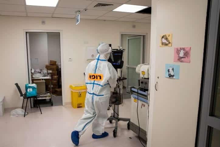 эпидемия коронавируса в израиле фото