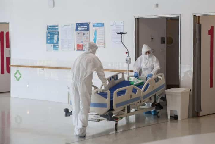 коронавриус больница израиль фото