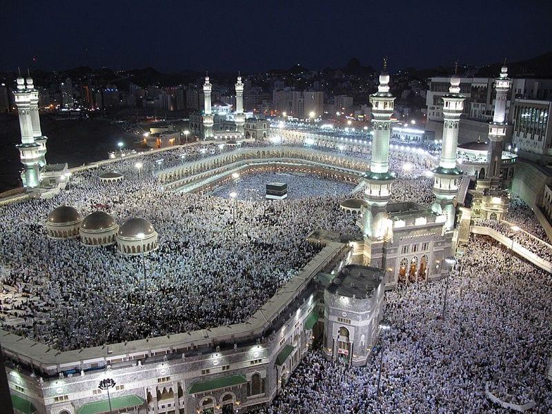 мечеть аль-харам саудовская аравия фото