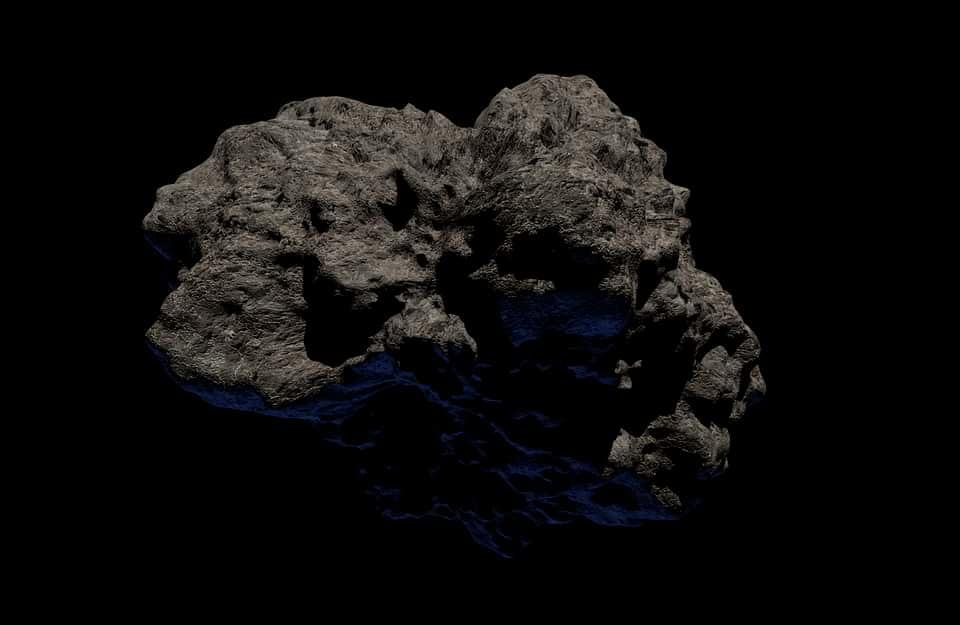 Метеорит фото