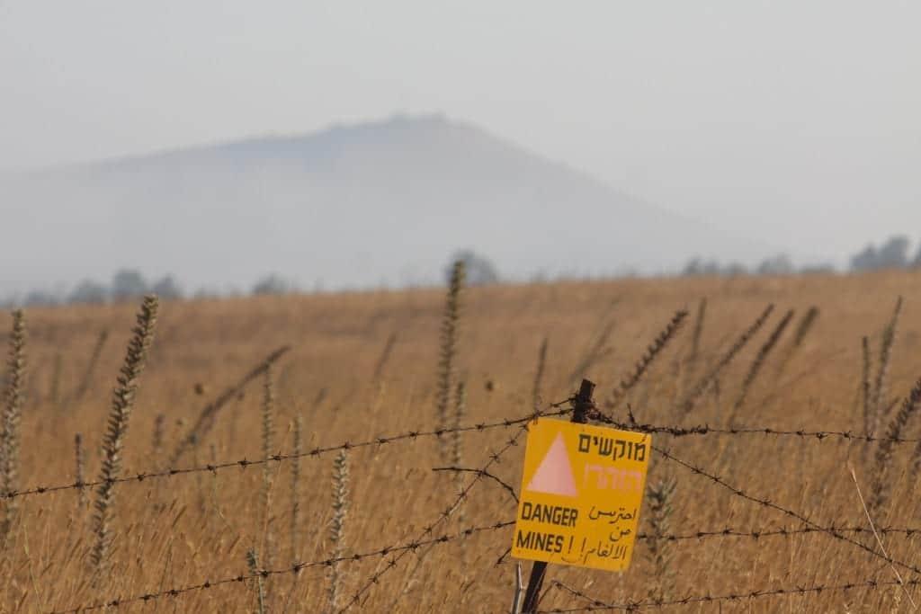 минное поле ливан израиль фото