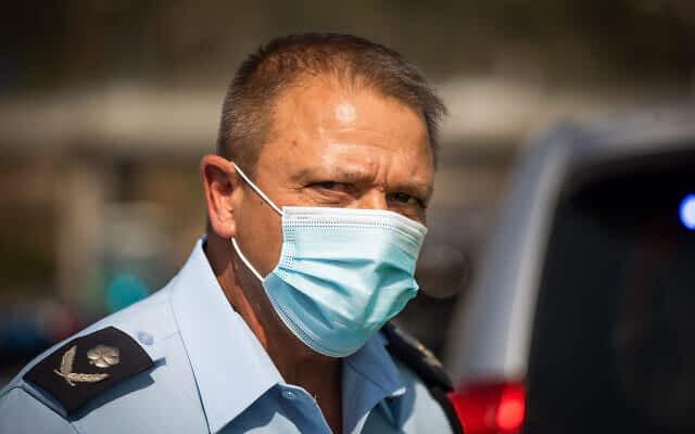 Мотти Коэн глава полиции израиль фото
