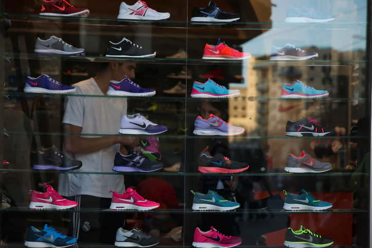 магазин обуви Израиль фото