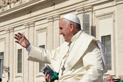 папа римский франциск фото