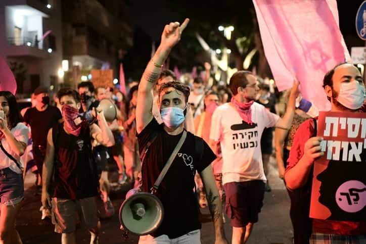 тель-авив протесты фото