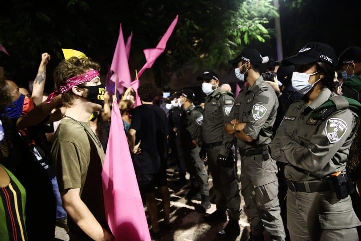 Protesty v Tel Avive 10