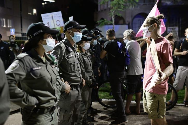 Protesty v Tel Avive 3