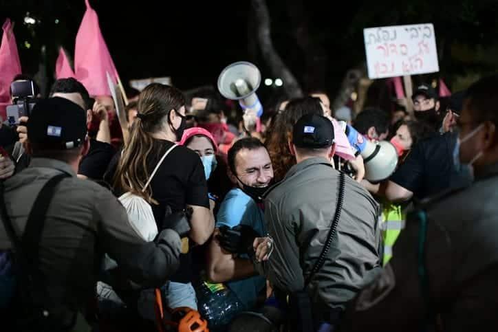 Protesty v Tel Avive 4