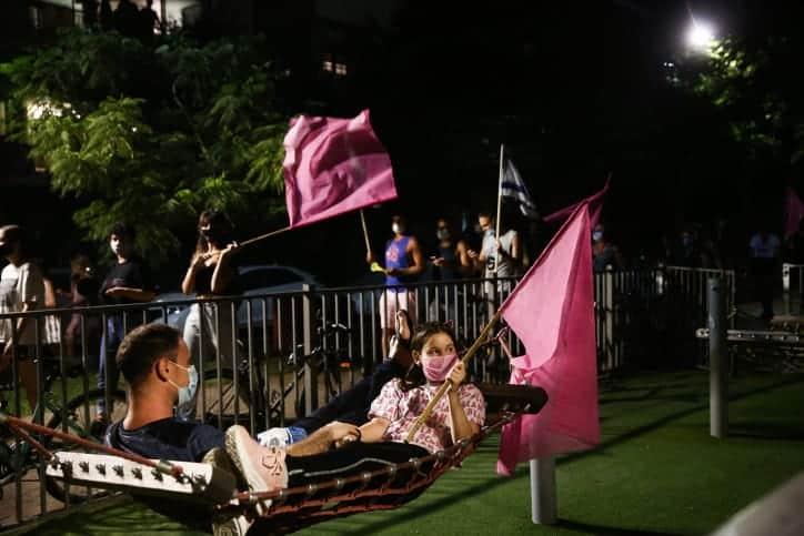 Protesty v Tel Avive 8