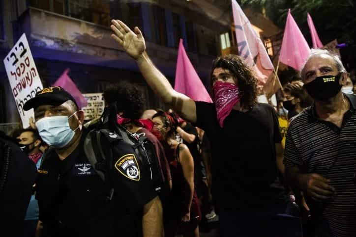 Protesty v Tel Avive 9
