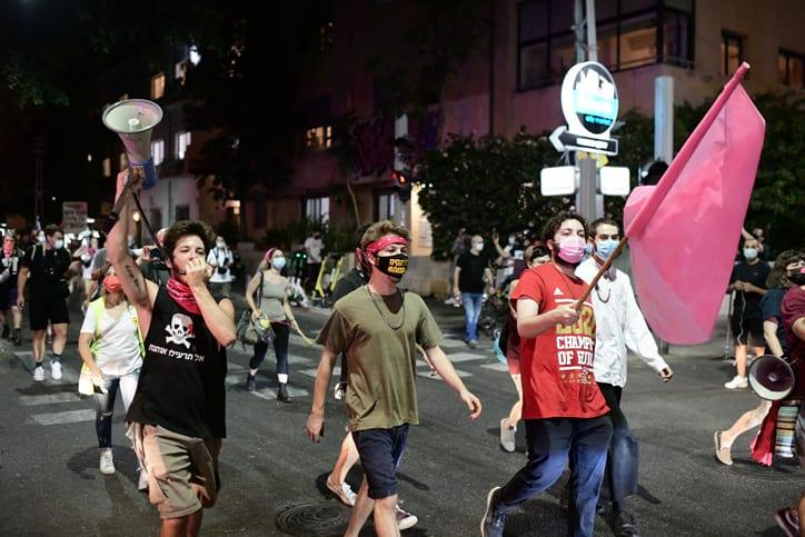 Protesty v Tel Avive