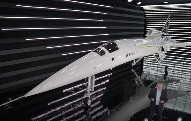 сверзвуковой самолет XB-1 фото
