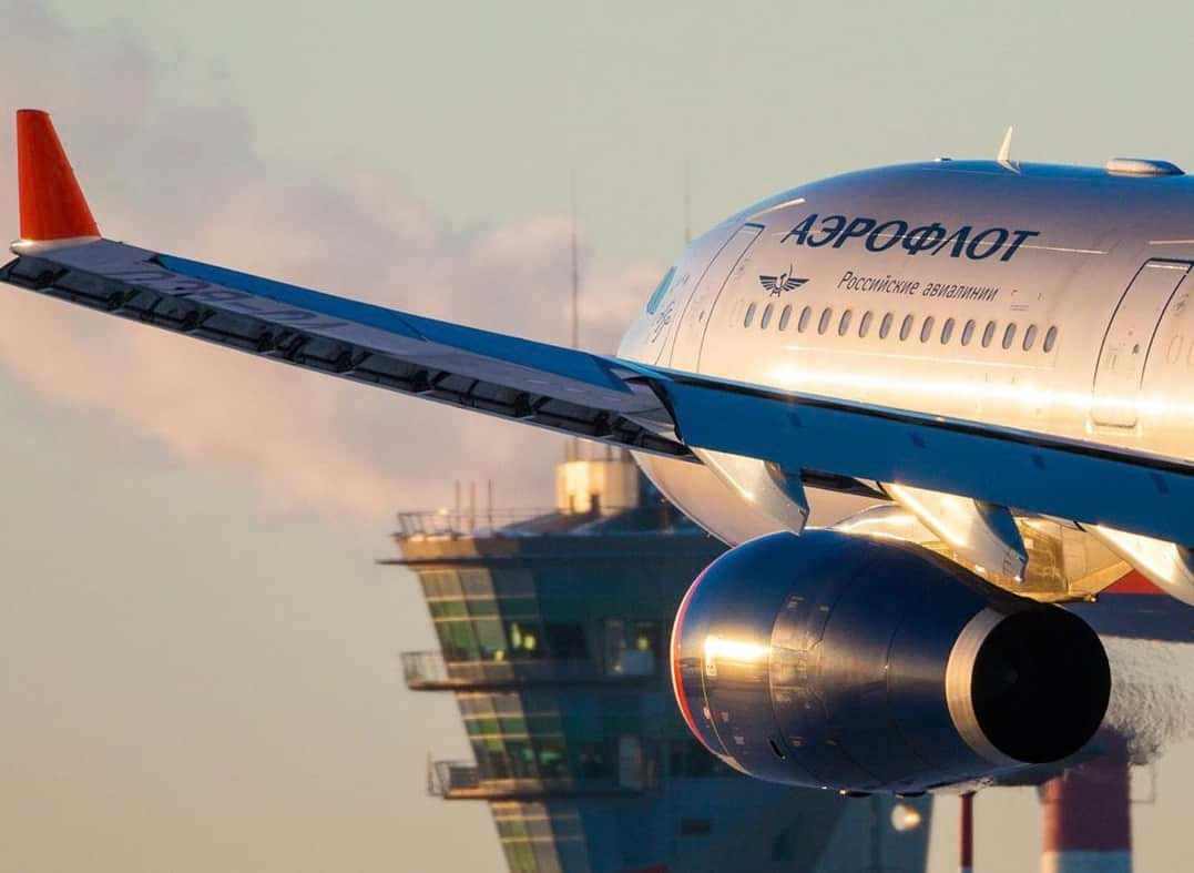 Самолет Аэрофлота картинка