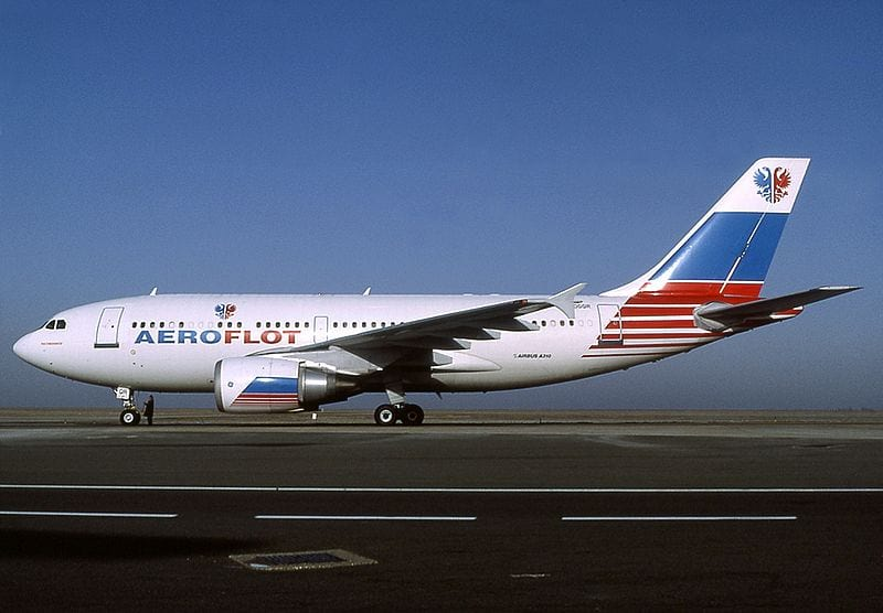 самолет аэрофлота россия фото