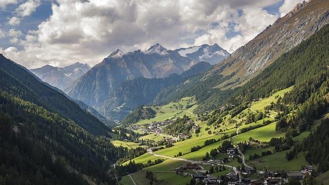Австрийская деревня фото