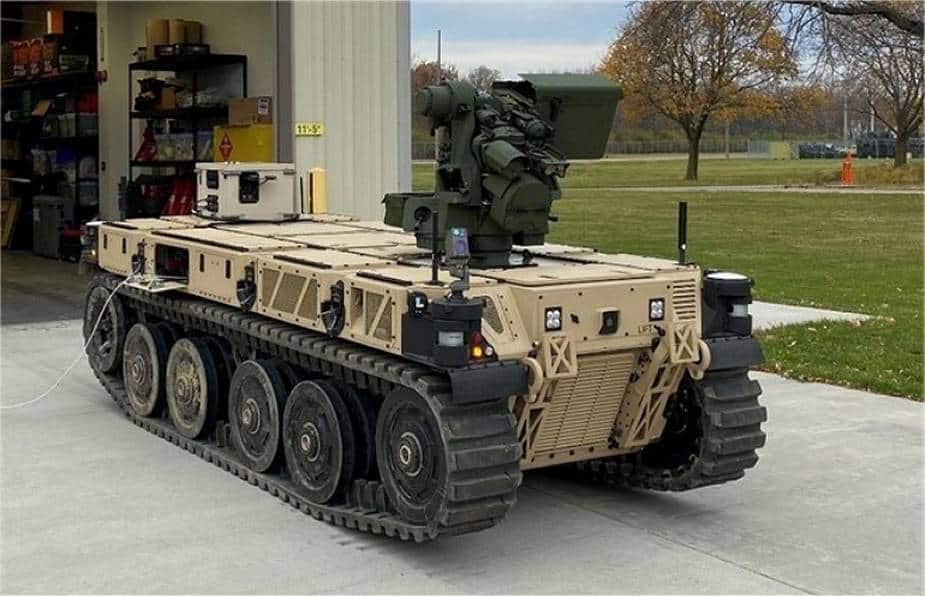 боевой робот сша фото