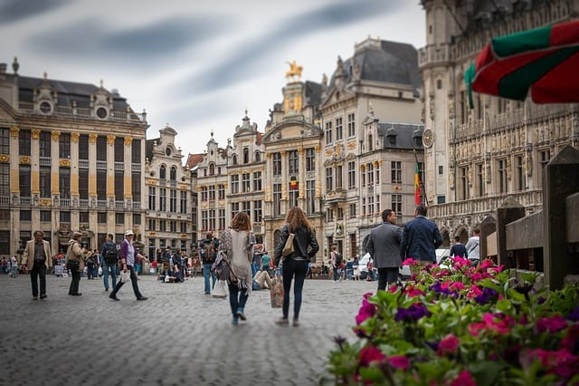 Бельгия улица фото