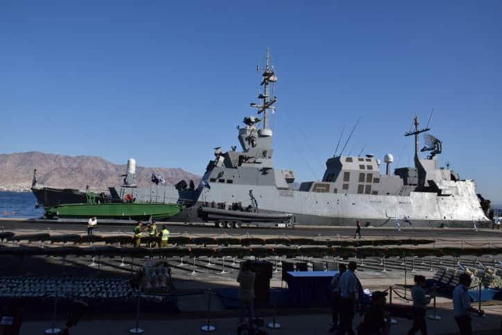 Военный корабль Израиля фото