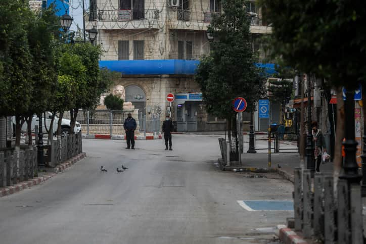 Локдаун в Палестинской автономии фото